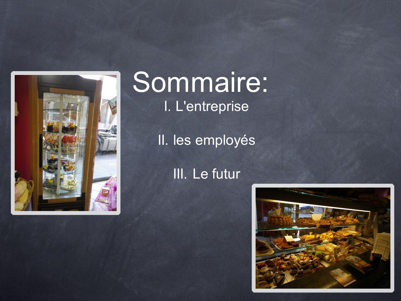 Sommaire: I. L'entreprise II. les employés III. Le futur