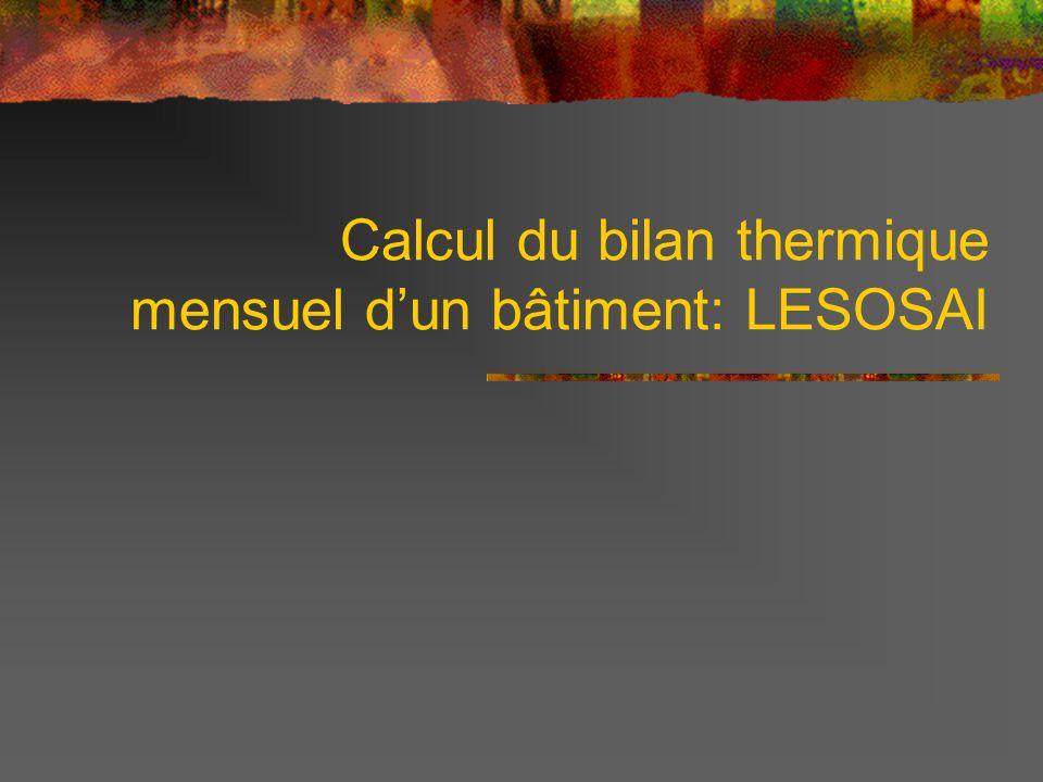 Calcul energie thermique au