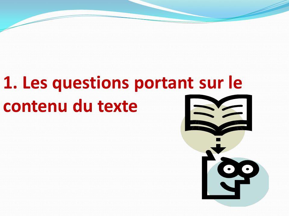 Cette partie de l'épreuve de français vise à évaluer ta compétence en compréhension de l'écrit.
