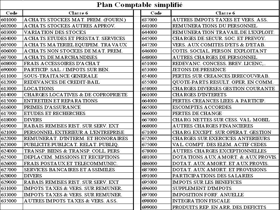Département « Génie Industriel » « Initiation à lanalyse comptable » novembre 2003 retour au plan 79 Annexe : PCG Classe 6