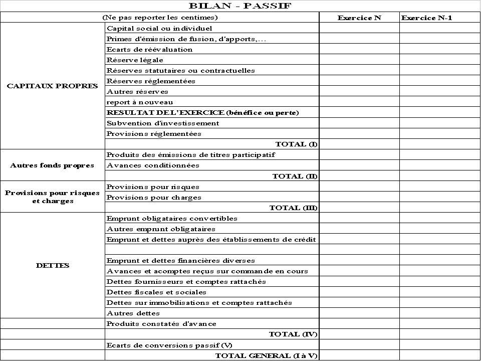 Département « Génie Industriel » « Initiation à lanalyse comptable » novembre 2003 retour au plan 82 Annexe : passif du bilan