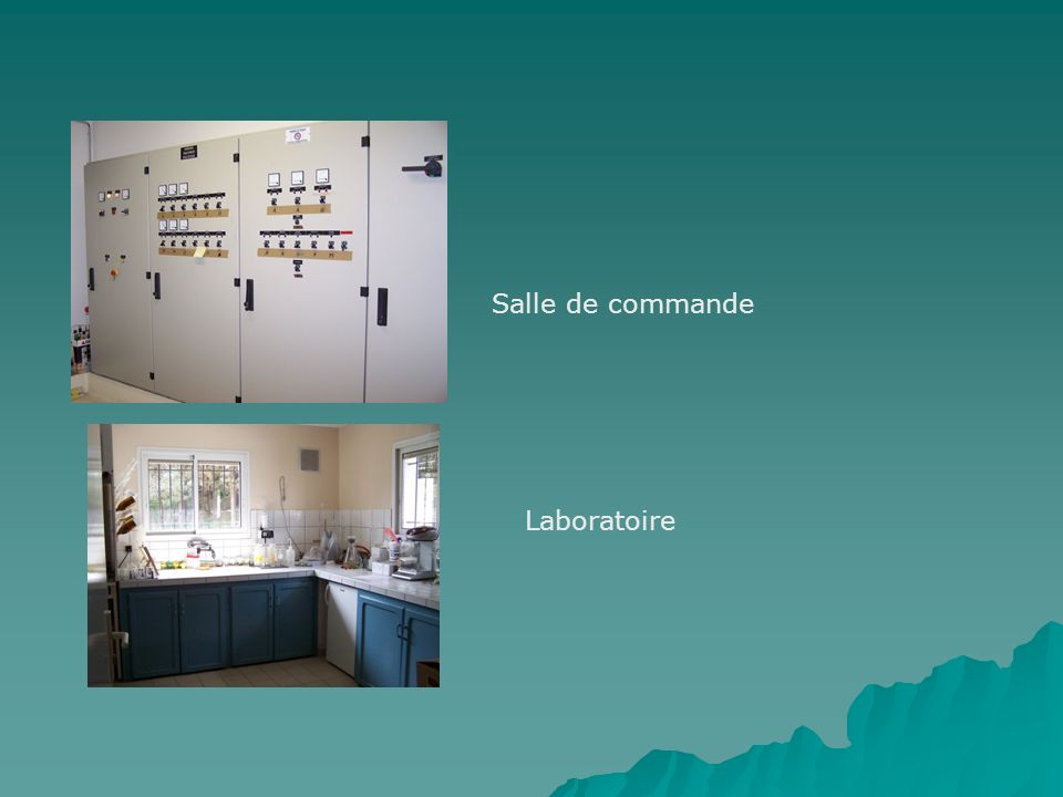 Salle de commande Laboratoire