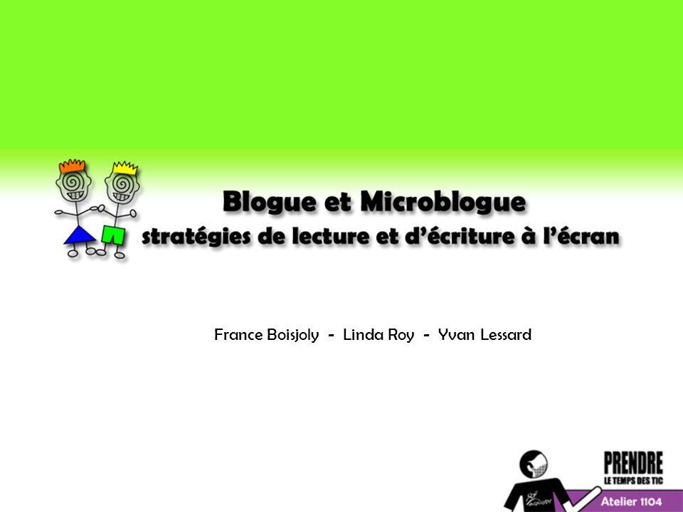France Boisjoly - Linda Roy - Yvan Lessard