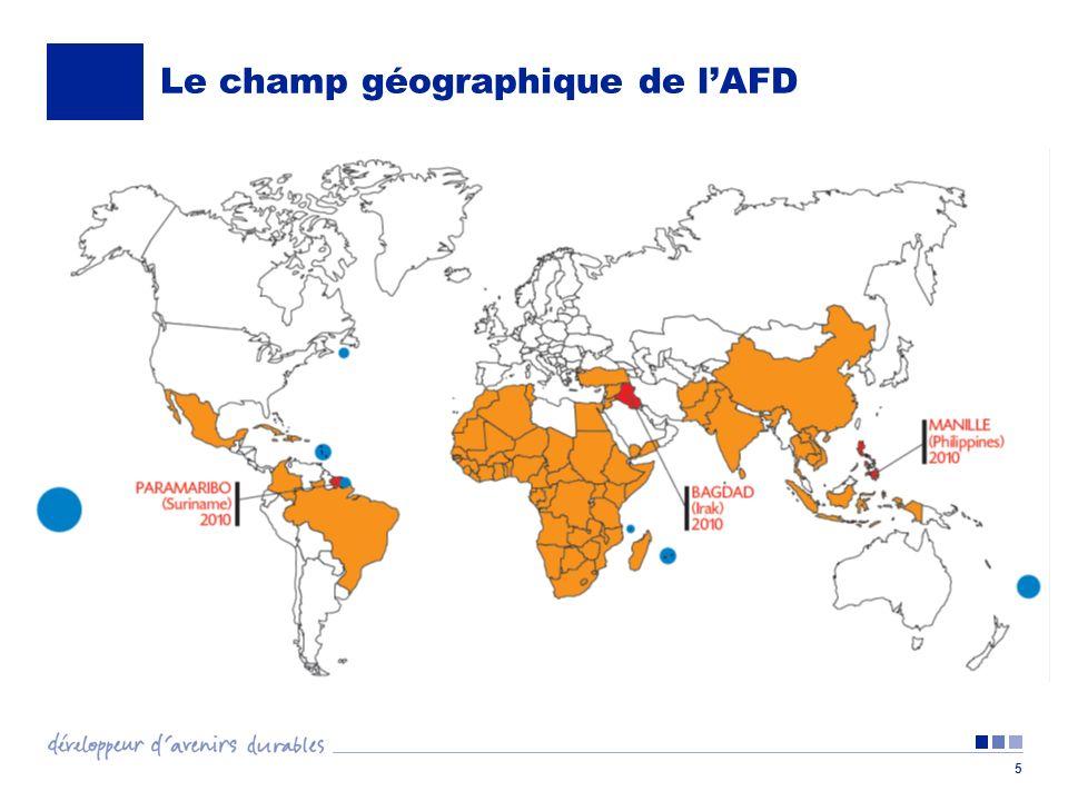 5 Le champ géographique de lAFD