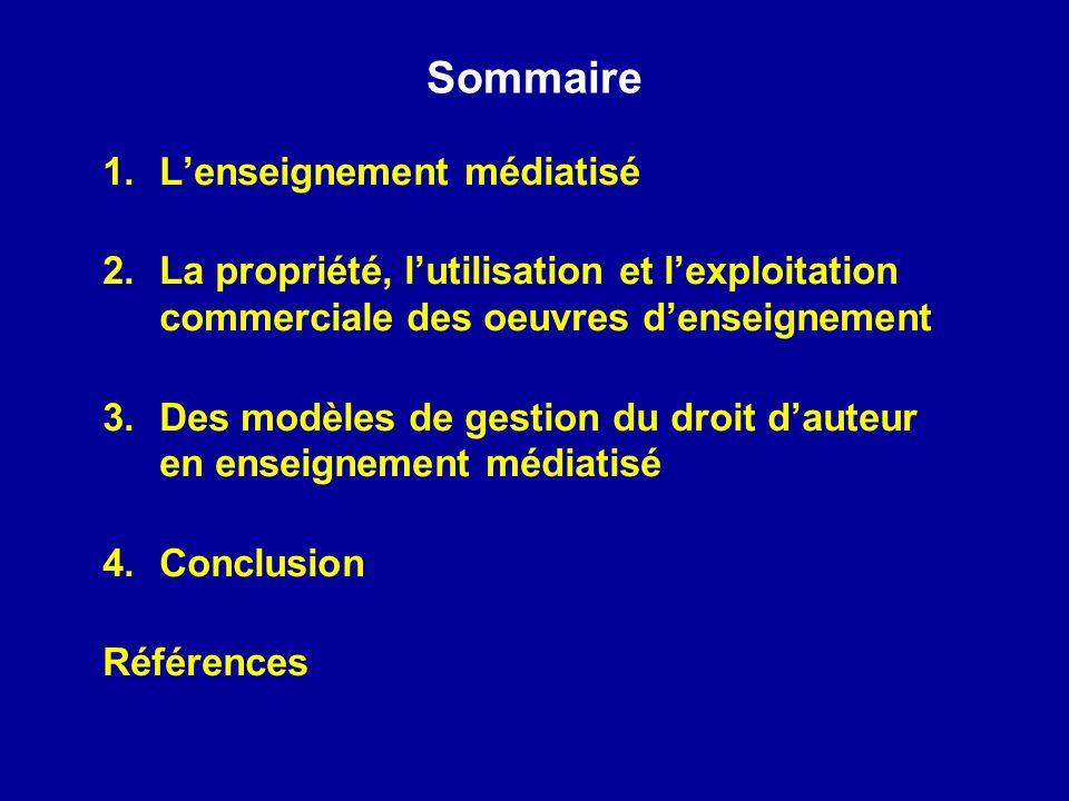 Merci ! Questions? Commentaires?