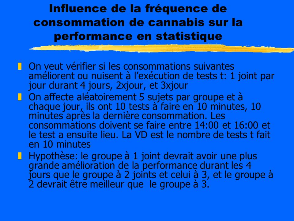 Stratégies d analyse du devis factoriel répété Comparer groupes dans le temps Dans chaque Moment: Tests t, anova Ancova Comparer le changement dans le