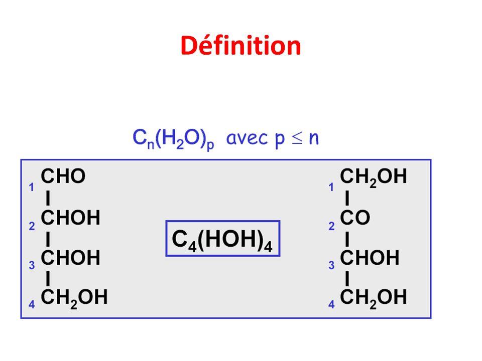 Glucides: aspects chimiques Principales fonctions