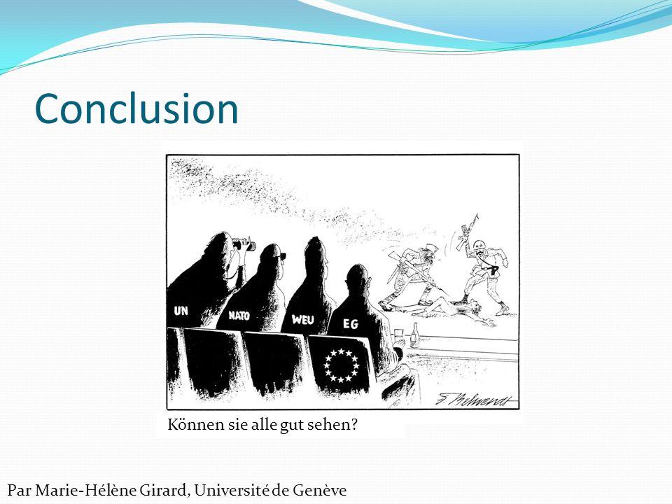 Conclusion Können sie alle gut sehen? Par Marie-Hélène Girard, Université de Genève