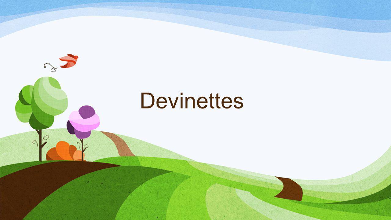 Devinettes
