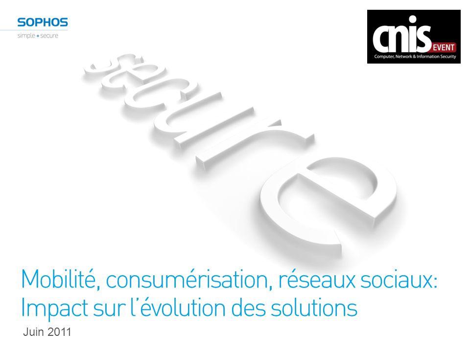 Mobilité, consumérisation, réseaux sociaux: Impact sur lévolution des solutions Juin 2011