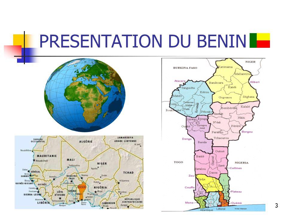 3 PRESENTATION DU BENIN