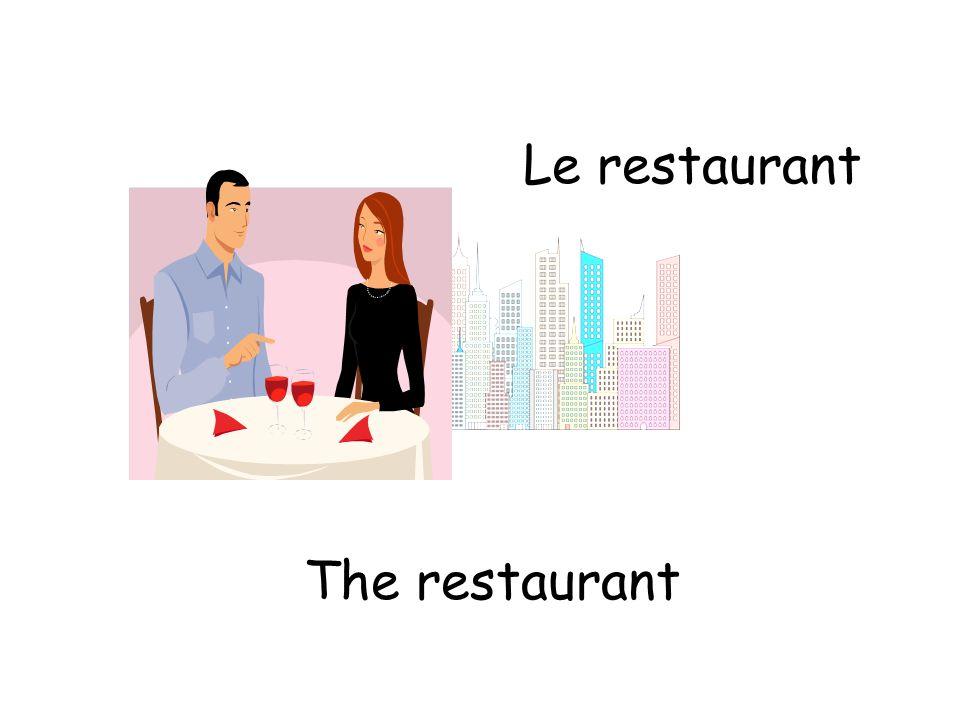 Le restaurant The restaurant