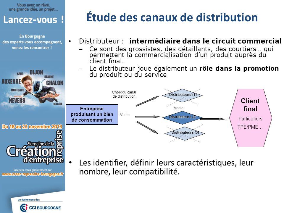 Distributeur : intermédiaire dans le circuit commercial – Ce sont des grossistes, des détaillants, des courtiers… qui permettent la commercialisation