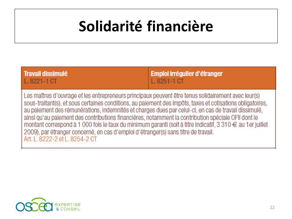 Solidarité financière 22