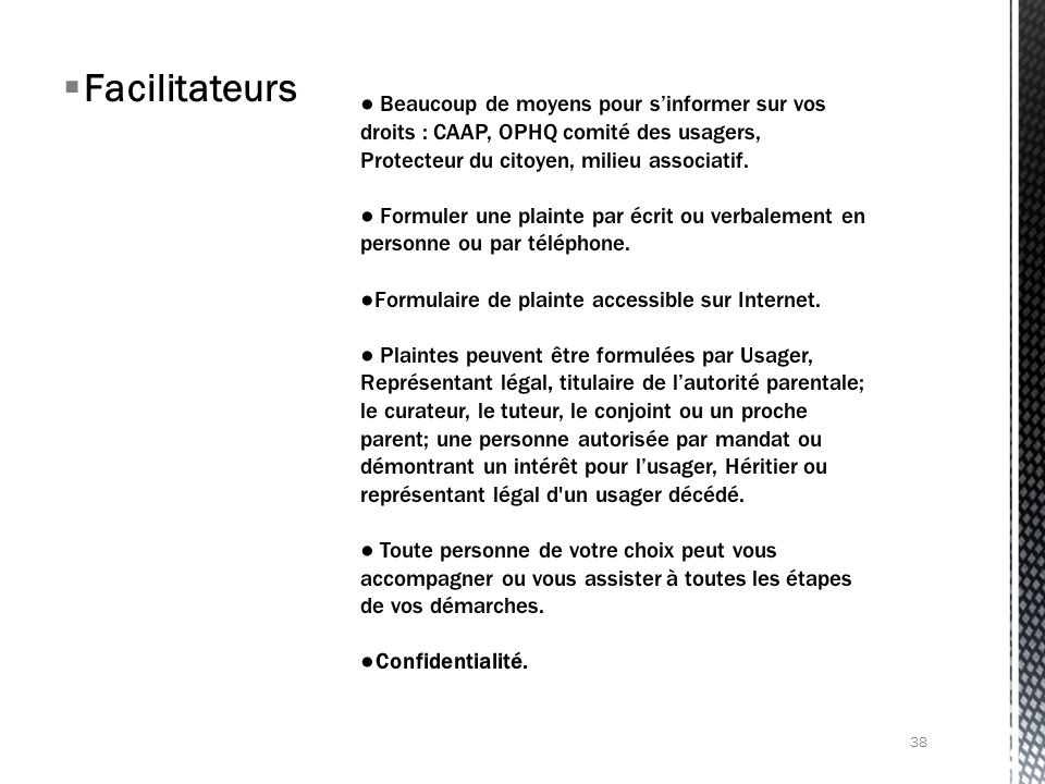 Facilitateurs 38
