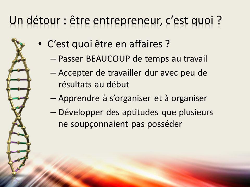 Quels sont les traits dun entrepreneur .