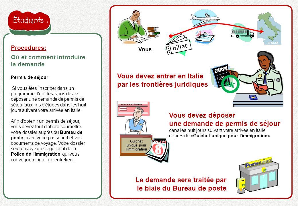 la proposition de l'employeur est acceptée billet Permis de séjour Si vous êtes inscrit(e) dans un programme d'études, vous devez déposer une demande