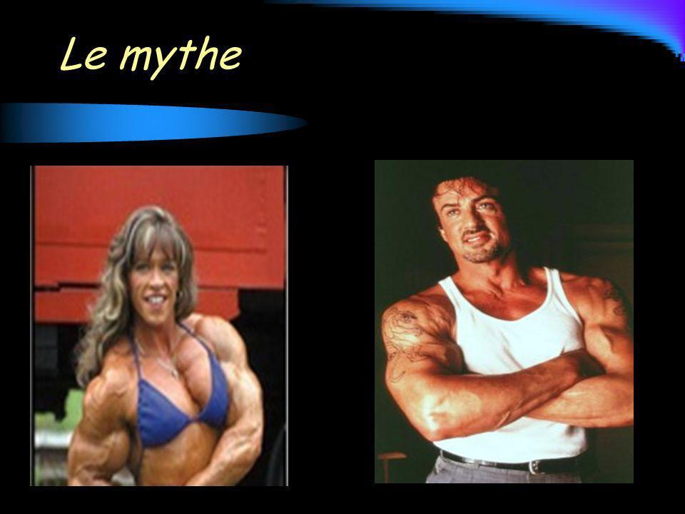 Entre lâge de 30 et 75 ans, perte de la masse musculaire essentiellement par perte de muscle squelettique (jusquà 50%) et remplacement par du tissu adipeux (qui passe de 20 à 40%)
