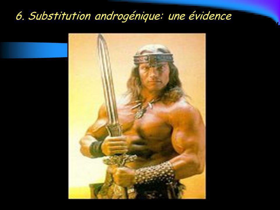 6. Substitution androgénique: une évidence
