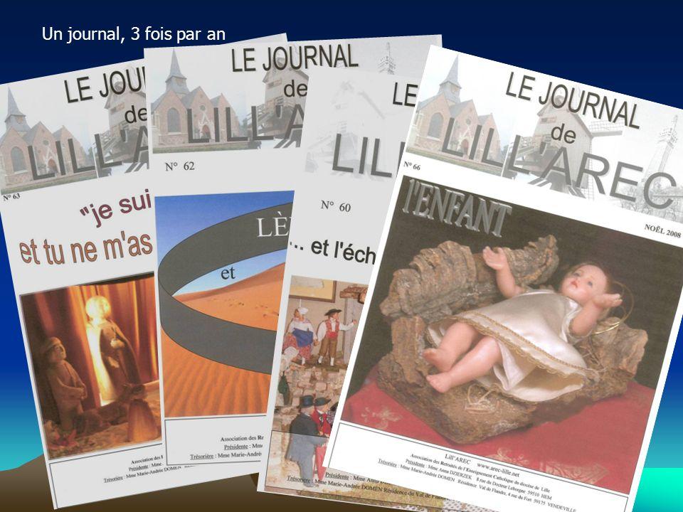 Un lien: le site internet de qualité alimenté par Albert Baron, Michel et les journalistes de votre future équipe.