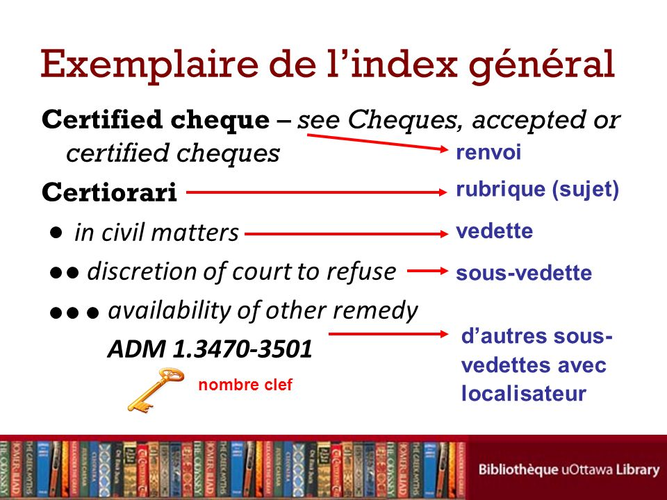 Certified cheque – see Cheques, accepted or certified cheques Certiorari in civil matters discretion of court to refuse availability of other remedy A