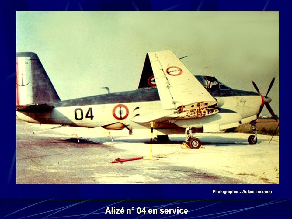 Alizé n° 04 en service Photographie : Auteur inconnu