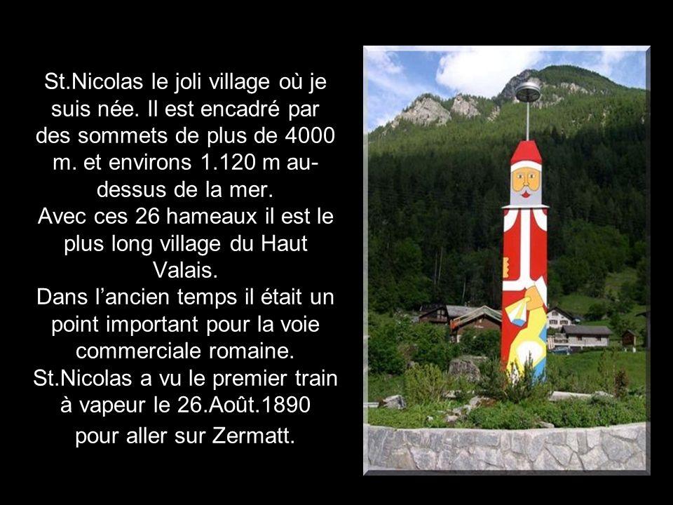 Escale dans un petit village de montagne en Suisse