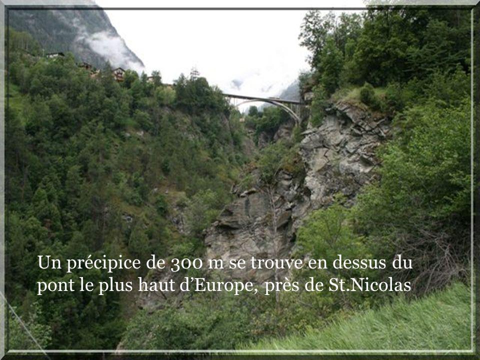 Quelques gros rocher qui ont trouvés le chemin vers la vallée