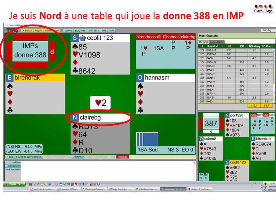Vous pouvez aussi, ouvrir le Fichier dune donne ou des donnes dans Bridge composer que vous pouvez télécharger sur internet http://www.bridgecomposer.com