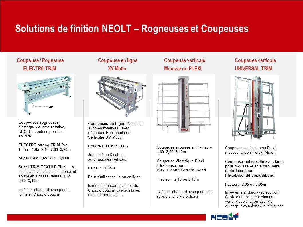 Solutions de finition NEOLT – Rogneuses et Coupeuses Coupeuse mousse en Hauteur= 1,60 2,50 3,10m Coupeuse électrique Plexi à fraiseuse pour Plexi/Dibo