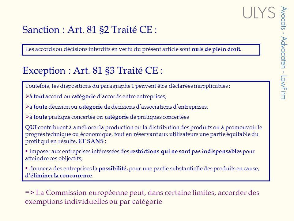 Sanction : Art.