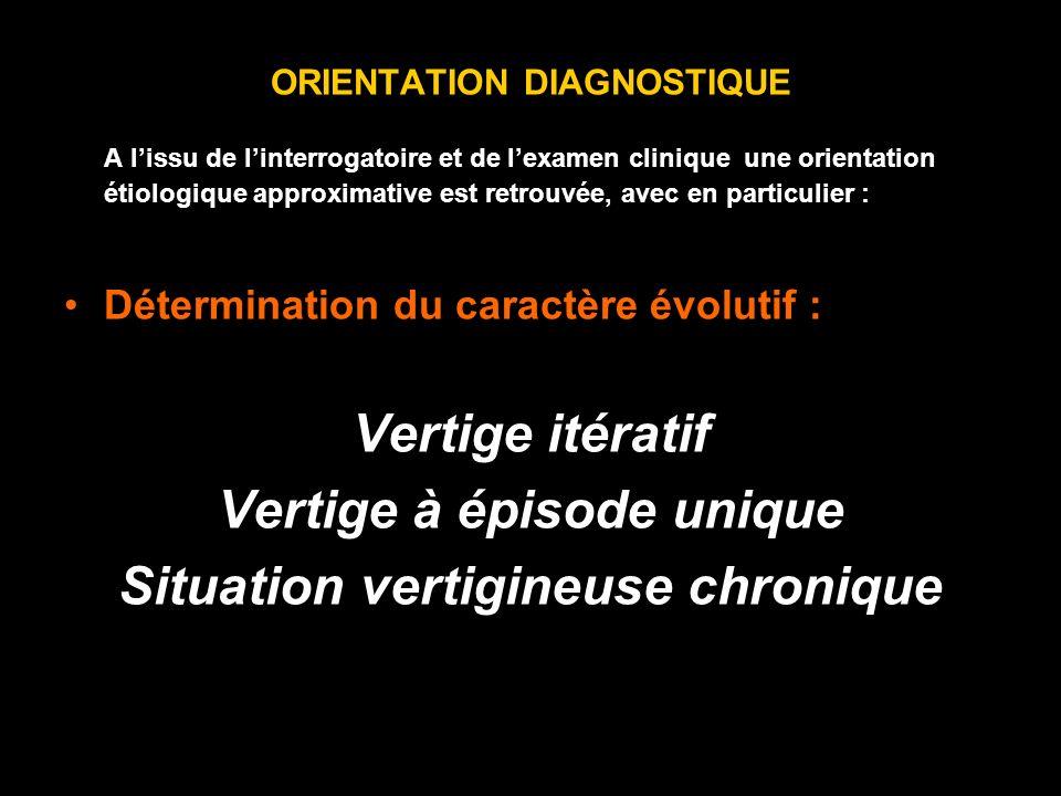 ORIENTATION DIAGNOSTIQUE A lissu de linterrogatoire et de lexamen clinique une orientation étiologique approximative est retrouvée, avec en particulie