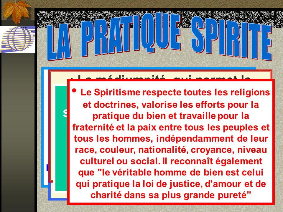 Toute pratique spirite est gratuite, selon le principe moral de l Evangile : Donnez gratuitement ce que vous avez reçu gratuitement .