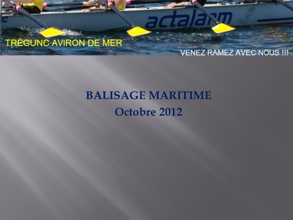 BALISAGE MARITIME Octobre 2012