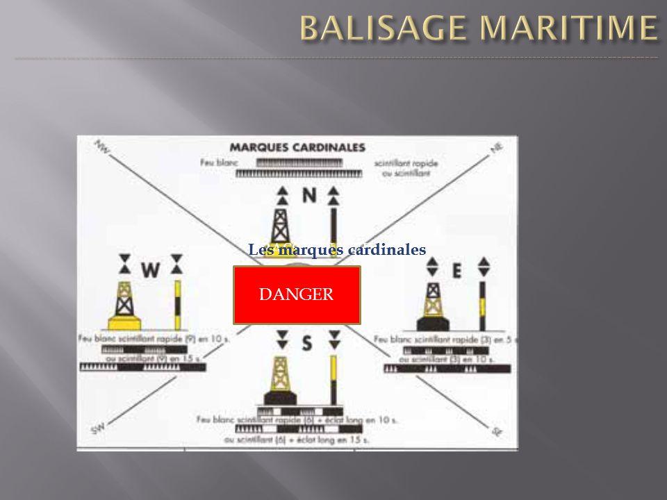 PASSION AVIRON DANGER Les marques cardinales