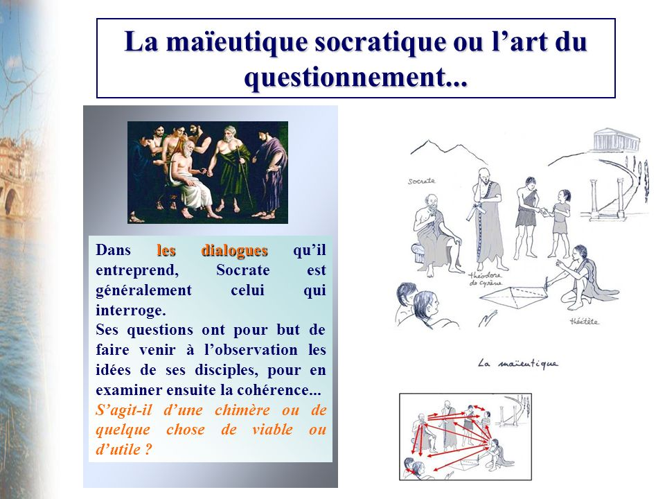 La maïeutique socratique ou lart du questionnement...