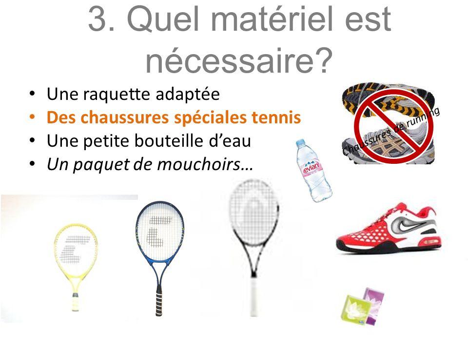 4.Les enfants jouent-ils au tennis en sécurité.