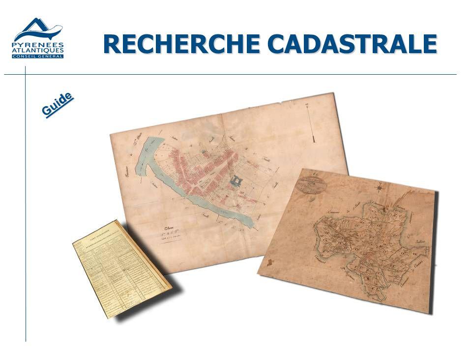 Définition Le cadastre est létat civil de la propriété foncière.