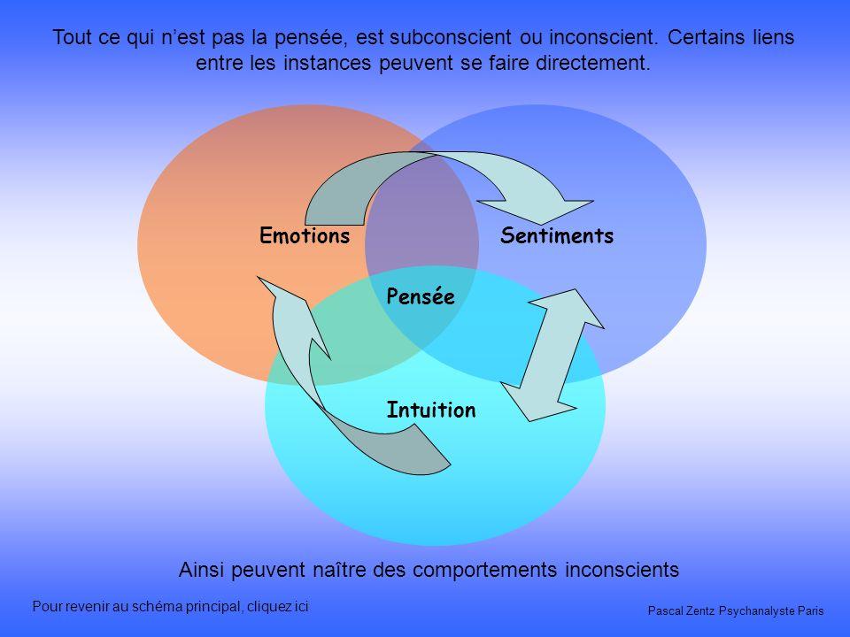 EmotionsSentiments Intuition Pensée Pascal Zentz Psychanalyste Paris Des modifications peuvent se produire, dans le placement ou la taille de certaine