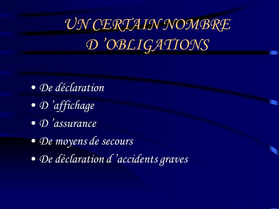 QUELQUES RECOMMANDATIONS En préalable à toute démarche : - Se renseigner auprès de la DDJS - Consulter les textes réglementaires : http://www.legifrance.gouv.fr/home.jsp