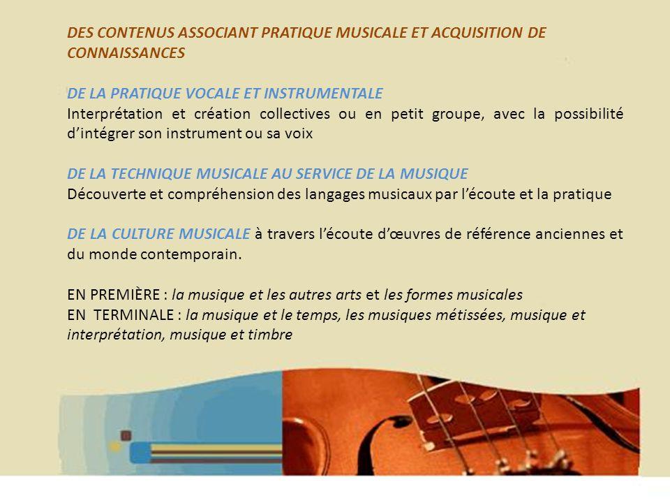 Hélène WAGNER 2013 DES ÉPREUVES DE BACCALAURÉAT ACCESSIBLES PAR LEURS EXIGENCES PLUS ARTISTIQUES ET CULTURELLES QUE TECHNIQUES Deux parties comptant au total coefficient 6 UNE PARTIE ÉCRITE DE CULTURE MUSICALE ET ARTISTIQUE coef.