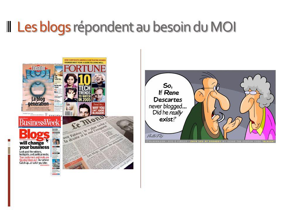 Les blogs répondent au besoin du MOI