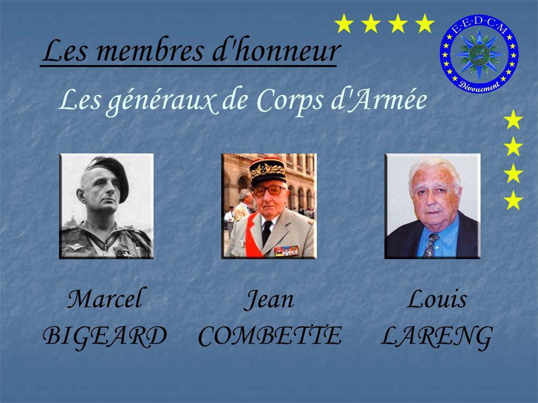 Les membres d'honneur Mesdames Geneviève DE FONTENAY Line RENAUD