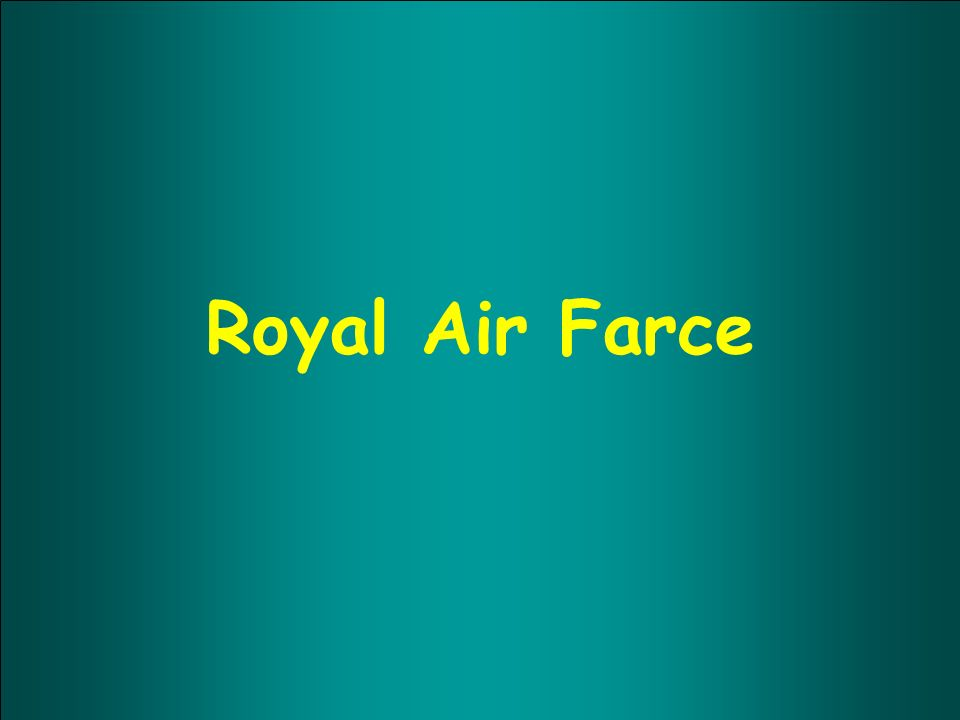 Royal Air Farce