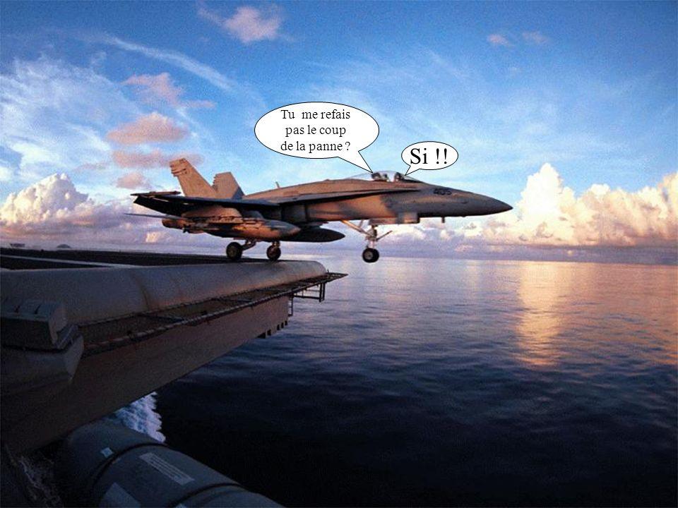 Robert ! je t ai déjà dit que la pêche au gros, cest pas au missile que ça se pratique..