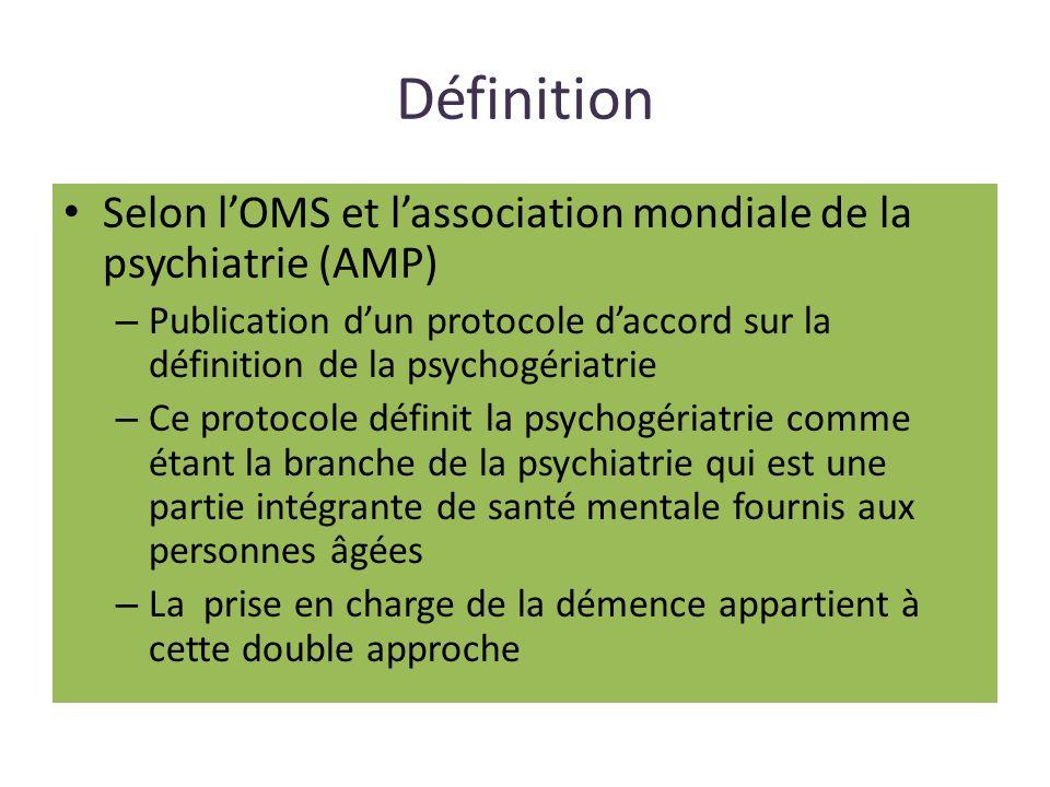 Psychogériatrie Au-delà du positionnement au premier plan de « psycho » ou « géronto » il peut être plus pertinent de sinterroger sur la typologie diagnostique et symptomatologique des patients au sein des structures sanitaires et ou médico- sociale.