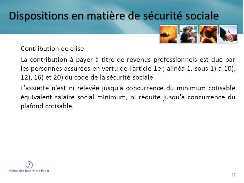 Le traitement fiscal et de sécurité sociale des condamnations prononcées par les juridictions du travail Quelques repères de cotisations et dimposition 18