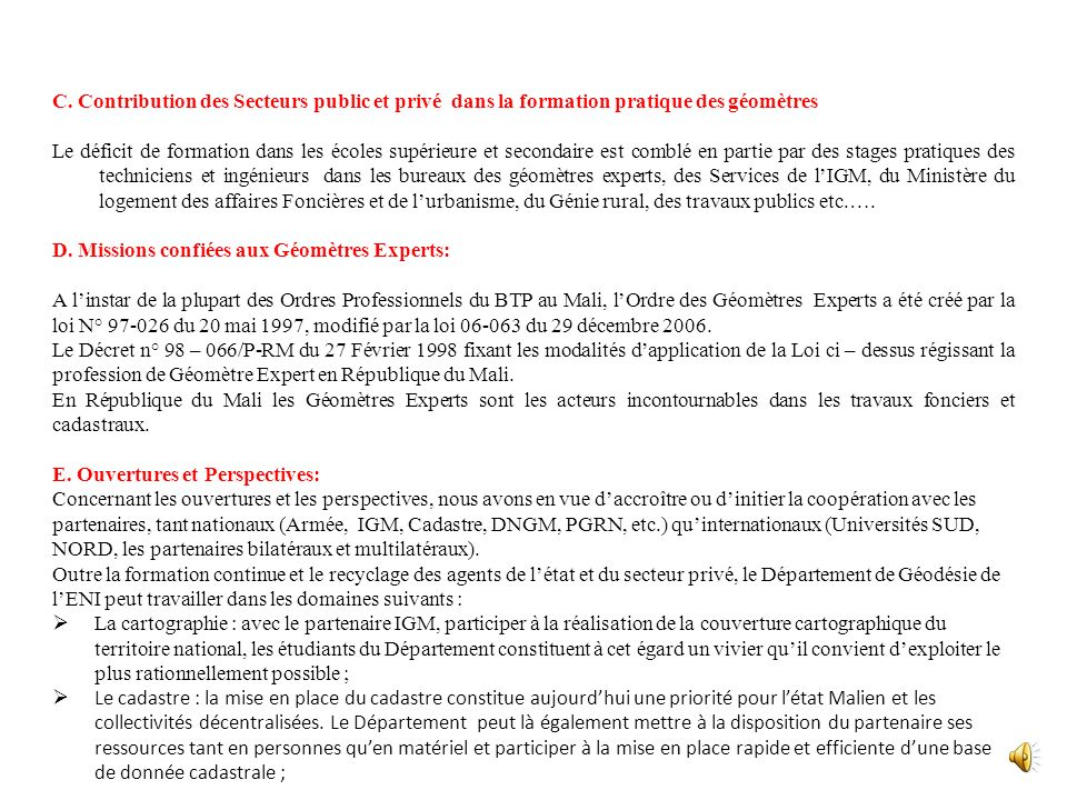 NOMBREDESIGNATION SPECIFICATIONS TECHNIQUES PRIX UNITAIRES ( en euros ) MONTANT TOTAL ( en euros ) OBSERVATIONS 10 postesAUTOCAD + AUTOCADMAP 10 poste