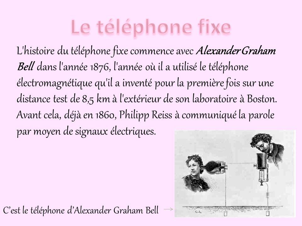 Le téléphone est un système de communication, initialement conçu pour transmettre la voix humaine. Il y a deux types de téléphone: Le téléphone fixe L