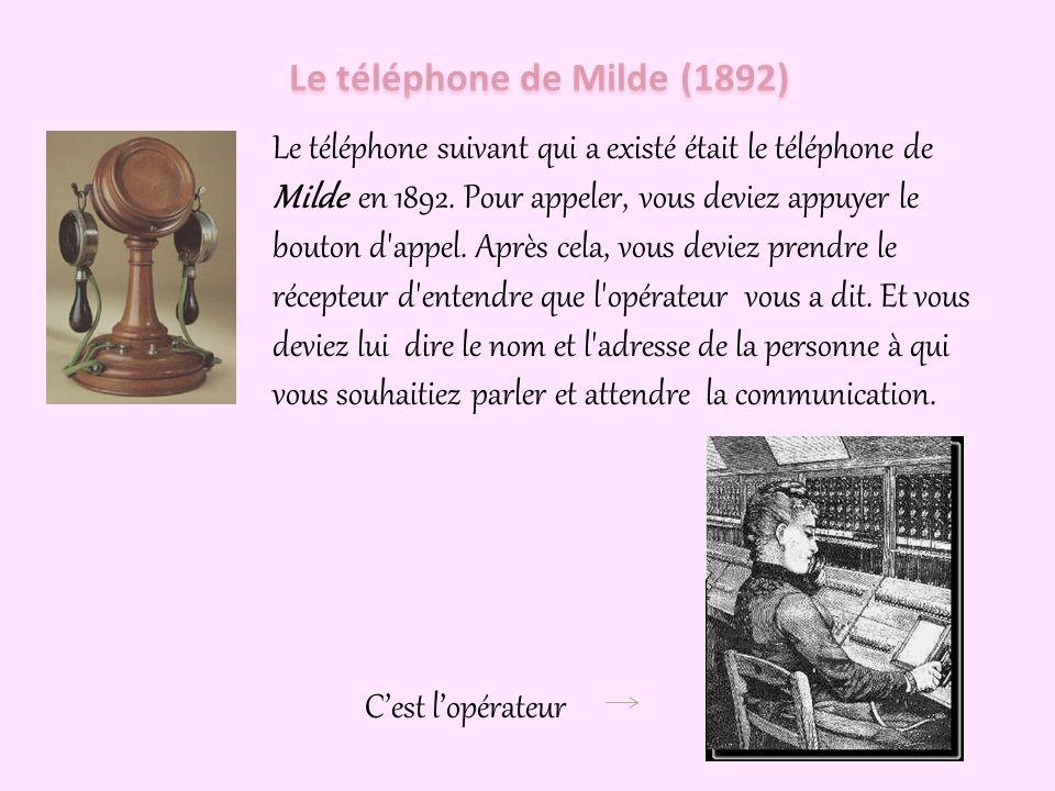 L'histoire du téléphone fixe commence avec Alexander Graham Bell dans l'année 1876, l'année où il a utilisé le téléphone électromagnétique qu'il a inv